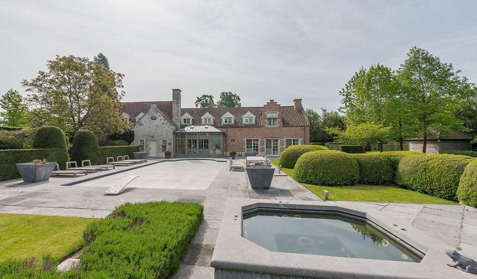 Vente maison de luxe belgique 5 000 000 10000000 1 for Achat maison belgique